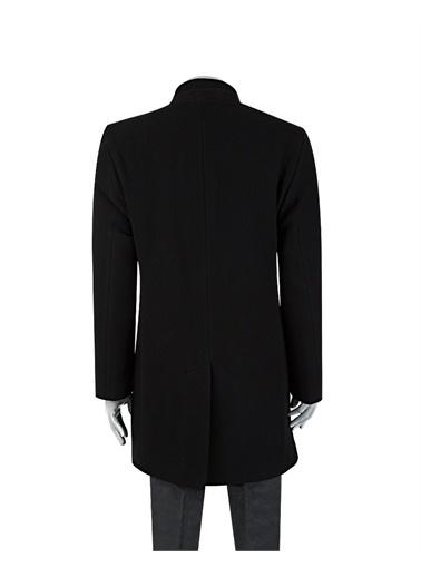 Tween Tween Düz Palto Siyah